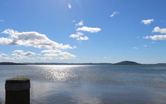 New Zealand, Lake Taupo, Lake