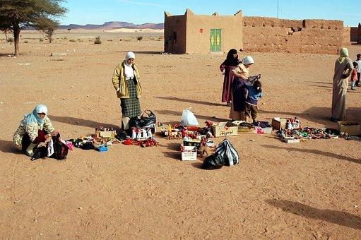 Morocco, Africa, Desert, Marroc, Sand, Landscape