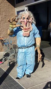 Monster, Costume, Halloween, Happy, Fun, Child, October