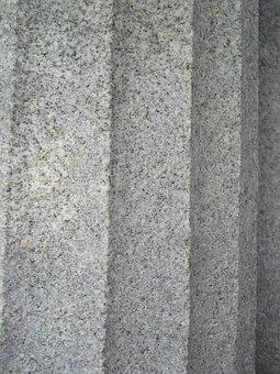 Texture, Cemetery, Stone, Column, Concrete, Old, Pillar