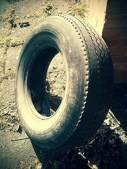 Mature, Auto Tires, Mature Age, Disposed Of, Rubber