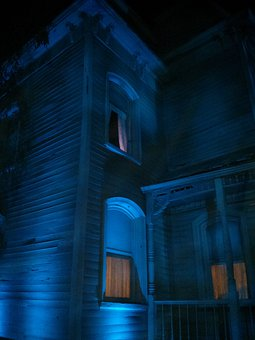 Haunted, House, Scary, Horror, Spooky, Halloween
