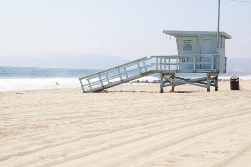 Usa, Los Angeles, California, Travel, Holiday, Sea