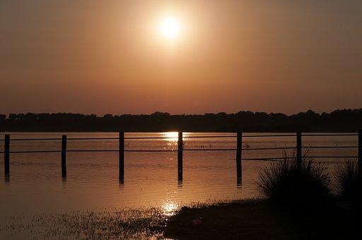 Sunset, Doñana, Seville