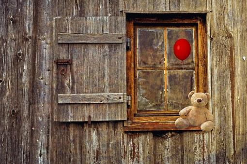 Teddy Bear, Bear, Teddy, Cute, Balloon, Soft Toy
