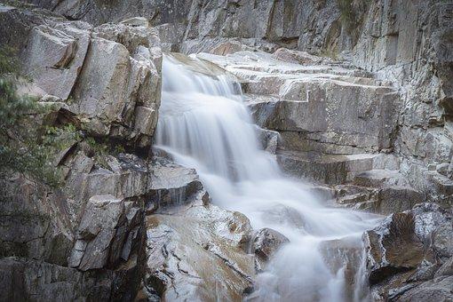 Reuss, Gotthard, Rock, Source, Mountain Water