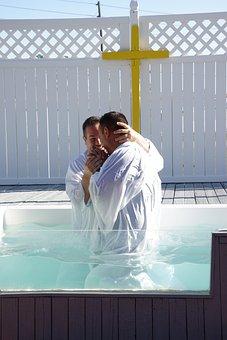 Man, Baptism, Faith, Religion, Symbol, Spirituality