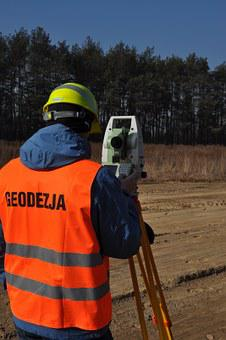 Surveyor, Geodesy, Total Station
