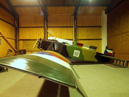 Avia, Bk-11, Airplane, Wing, Display, Museum, Interior