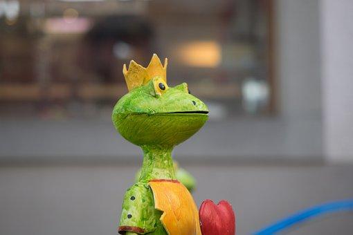 Decorative Items, Frog, Garden, Animal, Metal, Statue