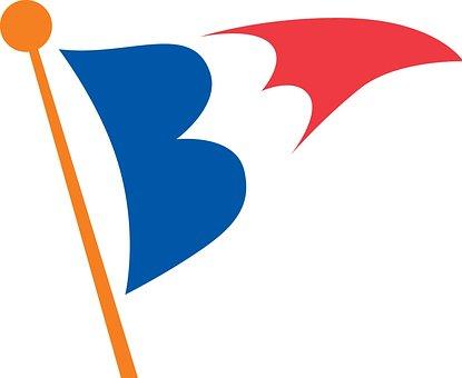 Balboa, Bay, Club, Burgee, Flag, Icon, Symbol