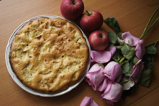 Comfort, Pie, Morning, Breakfast, Apples, Charlotte