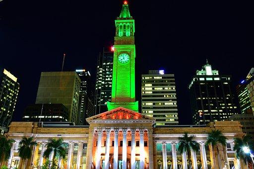 Brisbane, Australia, Cityhall, Queensland, Motorway