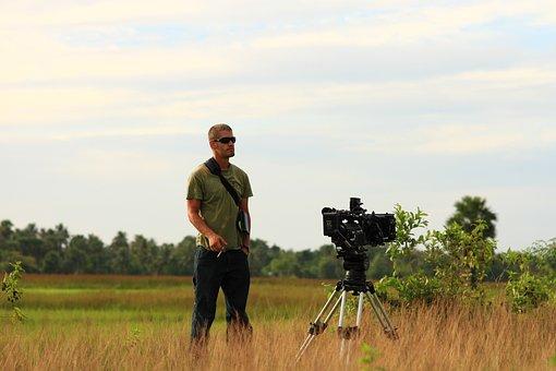 Cameraman, Cinematographer, Movie Production, Movie