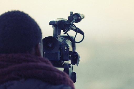 Videographer, Cameraman, Video, Camera, Film
