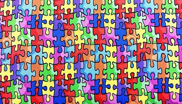 Colorful, Colors, Puzzle, Design, Creative, Rainbow