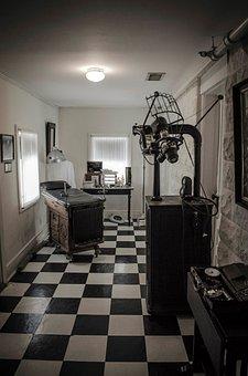 Dentist, Office, Old, Retro
