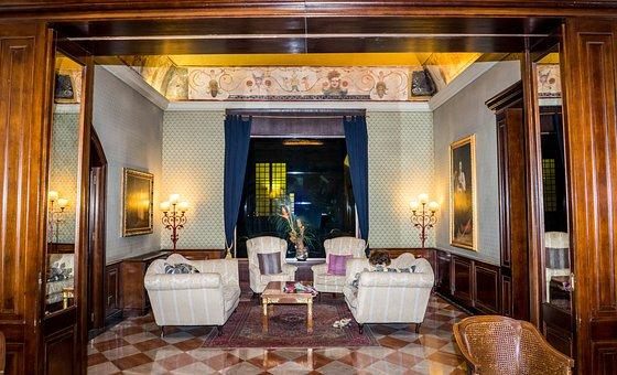 Living Area, Decorative, Italian, Hotel Astoria, Design