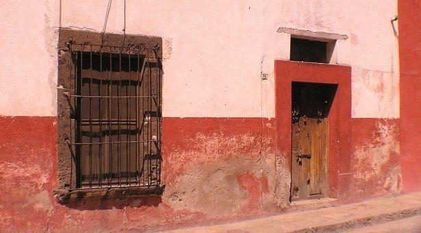San Miguel De Allende, Mexico, Door, Architecture