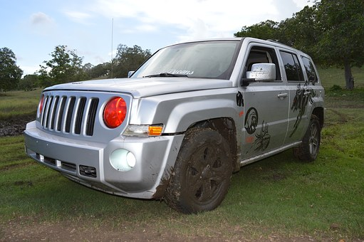 Jeep, Offroad, 4x4, Dirty Wheels, Crossover