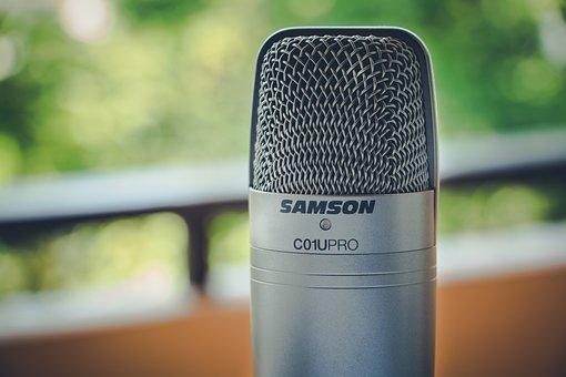 Close Up, Macro, Mic, Microphone, Samson