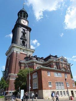 Hamburg, Church, Main Church, St Michaelis, Michel