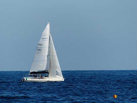 Ship, Sailing Vessel, Sail, Hoisted, Masts, Sea, Ocean