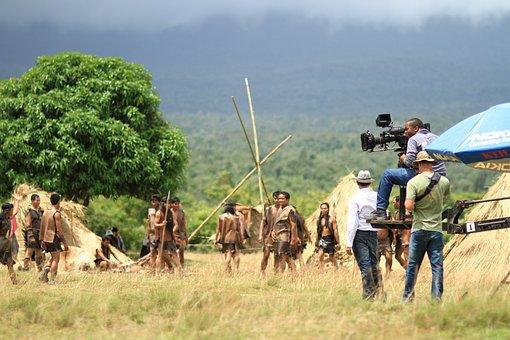 Director, Movie Scene, Cameraman, Cinematographer