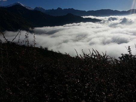 Natural Cloud, Nature, Nepal Beauty, Adventure