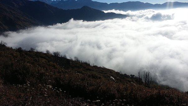 Nature, Nepal Beauty, Adventure, Natural Cloud Of Nepal
