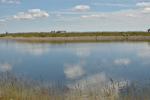 Artificial Pond, Quiet Zone, Plateau, Landscape