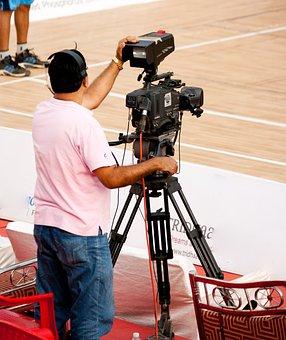 Cameraman, Camera, Video, Producer, Basketball