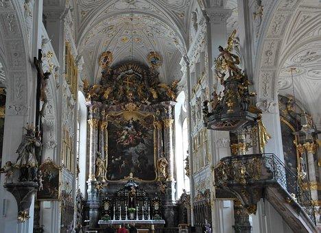 Hofkirche, Residenzschloss, Main Castle A D Donau
