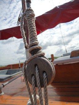 Rigging, Sail, Sailing Boat, Water Sports, Sea, Ship