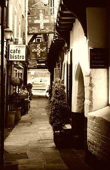 City, Shrewsbury, Shropshire, England, Old
