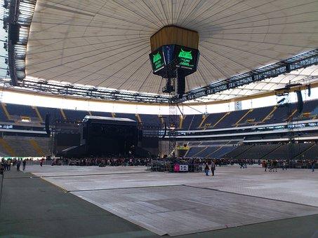 Concert, Live Concert, Commerzbank Arena, Stage