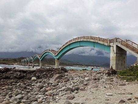 Bridge, Arch Bridges, Three Sendai, Taiwan, Taitung