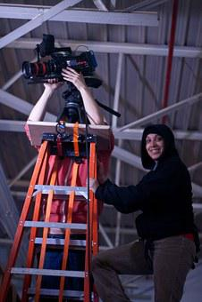 Camera, Crew, Film, Filming, Video, Teamwork, Cameraman