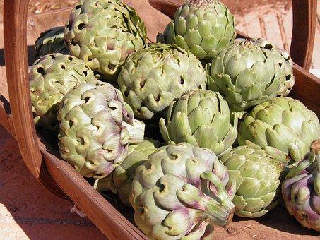 Artichokes, Globe Artichokes, Vegetables, Food, Healthy