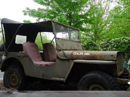 Military, Jeep, Historical, Vehicle