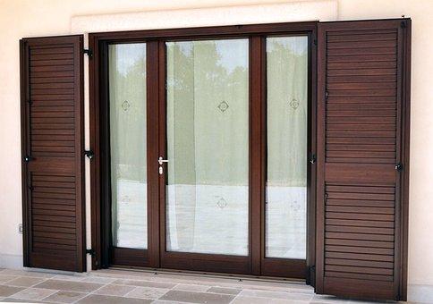 Window, Windows, Wood, Glass, Door Handle, Trunk, Entry