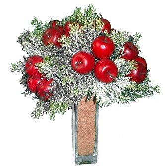 Apfeldeco, Deco, Christmas Decorations, Weihnachtsdeco