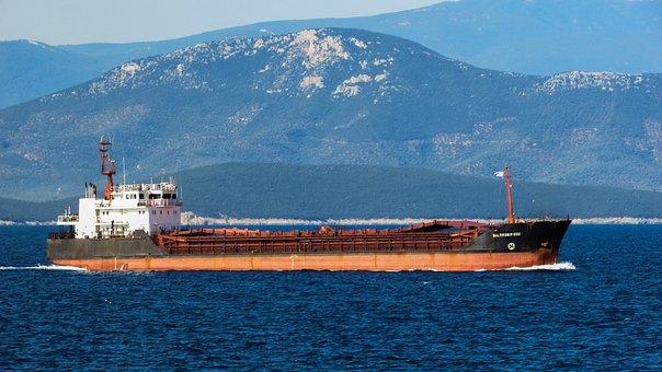 Ship, Vessel, Boat, Sea, Nautical, Cargo, Commercial