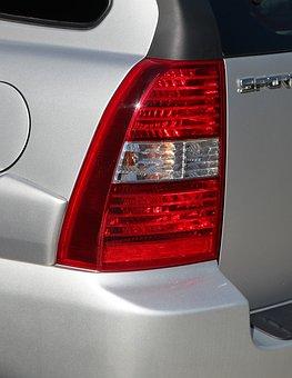 Car Light, Rear Light, Stop Light, Brake Light, Note