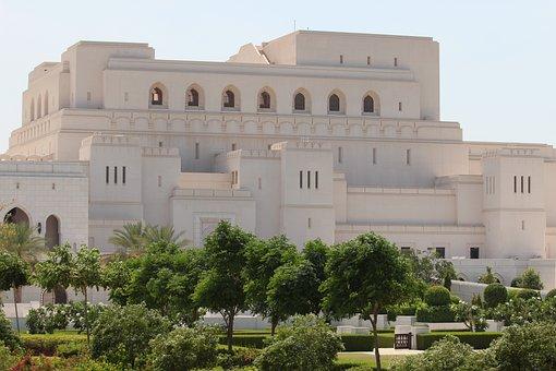 Royal, Opera, Mascate, Oman, Middle, East, Arabic