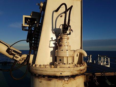 Shipping, Frachtschiff, Crane, Lifting Crane, Machine