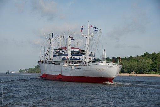 Hamburg, Frachtschiff, Germany, Port, Cap San Diego