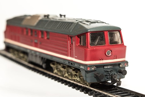 Model Train, Locomotive, Diesel Locomotive, Piko, Ho