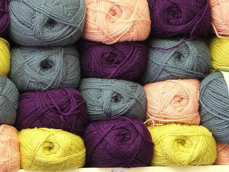 Wool, Yarn, Balls, Hobbies, Craft, Knitting, Needlework