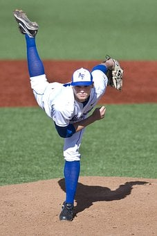 Baseball, Sports, Pitcher, Mound, Infield, Game